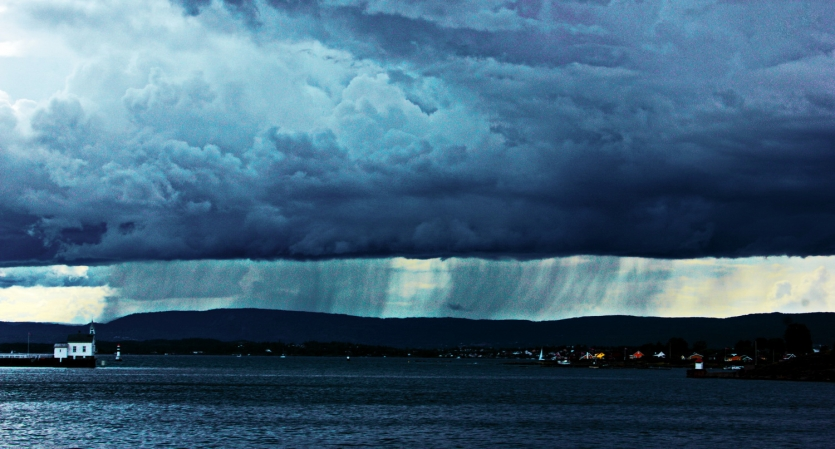 Storm over Oslo