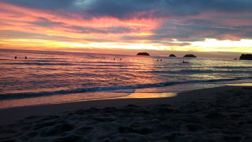 Sunset in Lonely Beach, Thailand