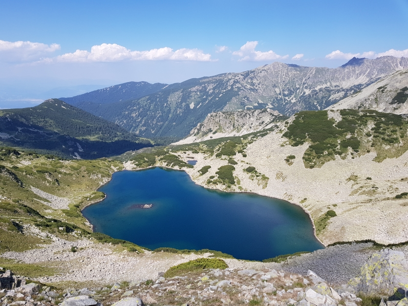 Popovo lake in Pirin mountain