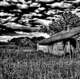 Leaving Rural - Going Urban (Abandoned House Built In Late 19th Century)