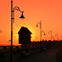 The Magic of Golden Hour - Old Mill in Old Town Nesebar