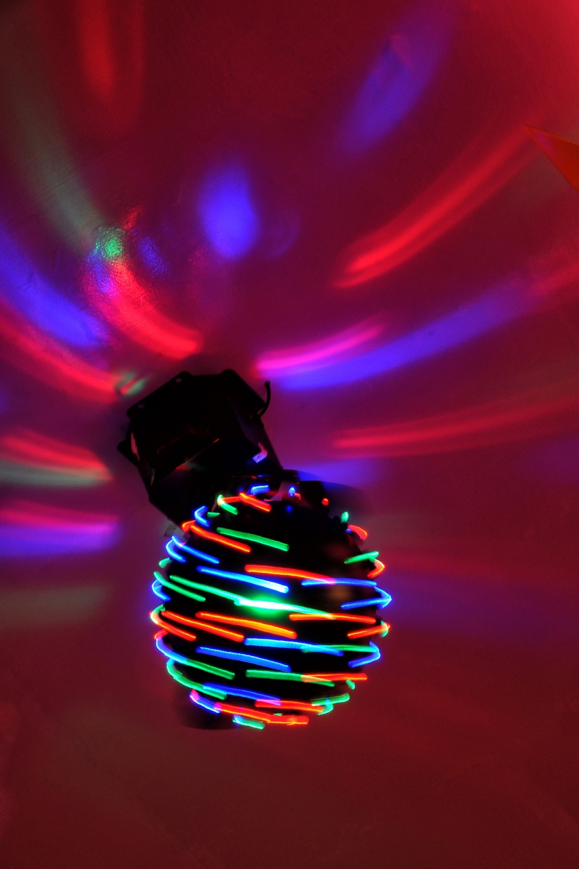 ROTATING COLOR LAMP