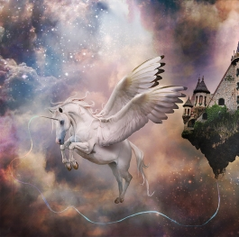 Pegasus - the defender of the fairytale castle