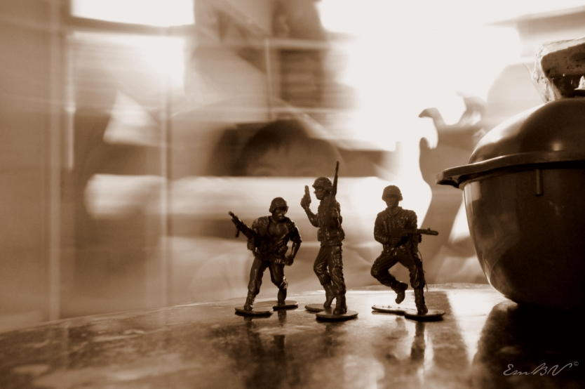 Time warp with these toy soldiers