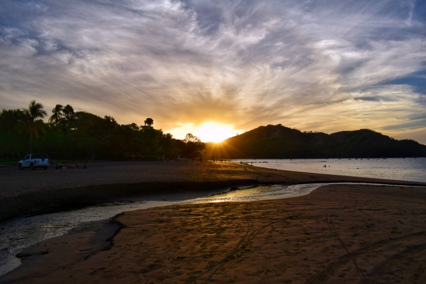 Sunset on Playas del Coco