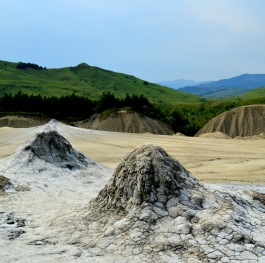 Mud volcanoes,Romania