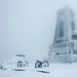 The Monument of Freedom,  Shipka peak