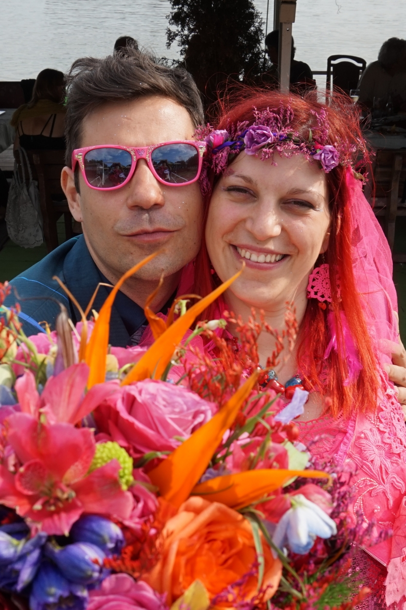 Colourfull wedding it was