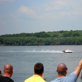 This is moment from water motorsport competition in Bulgaria.