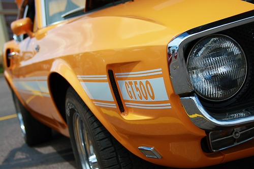 1970 SHELBY GT500 MUSTANG FASTBACK