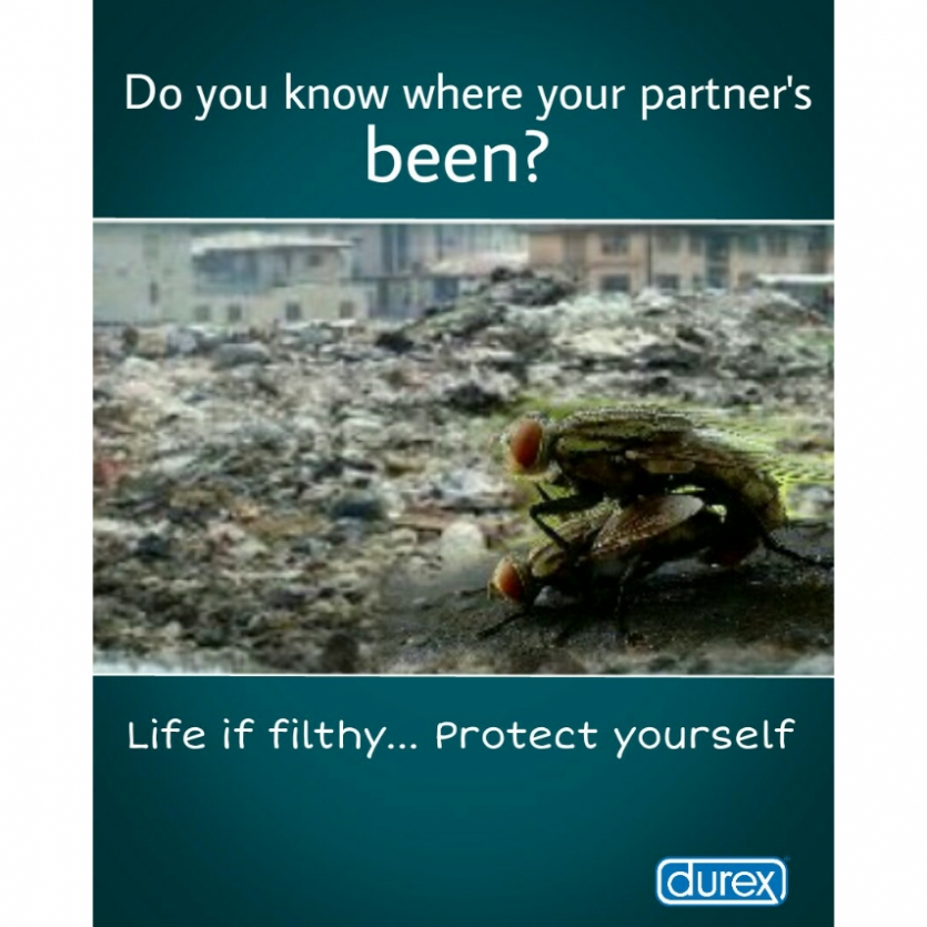 durex advert copy. i did the design and the ad copy myself