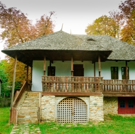 traditional wood house