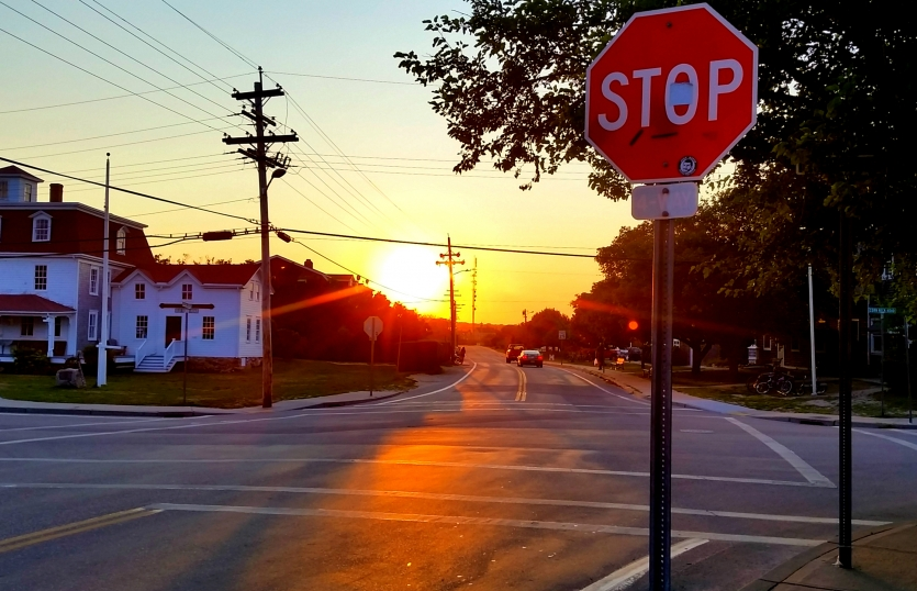Stop and enjoy the sunset