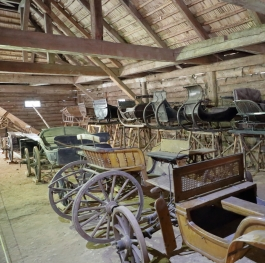 The Old Days of Wooden Carriages