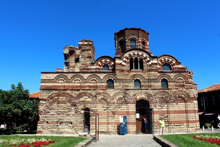 Ancient church in Nessebar town