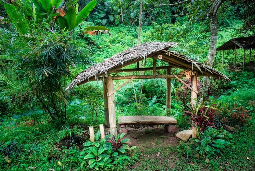 Philippines Native waiting shed