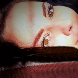 In love with your eyes