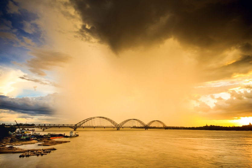 Rain Over Bridge