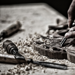 Hand carving