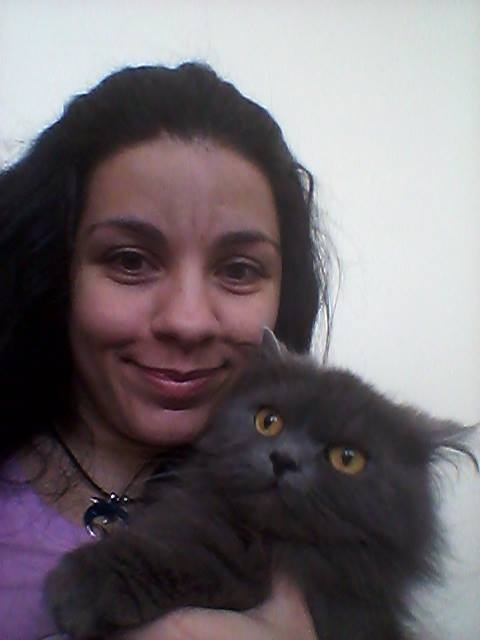 Me and my kitty Murka