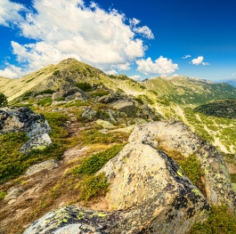 Beautiful Landscape of Pirin Mountain
