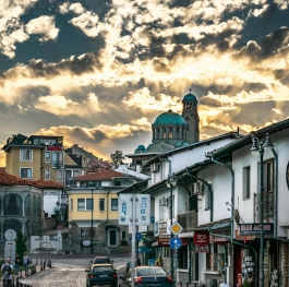 Cityscape from Bulgaria