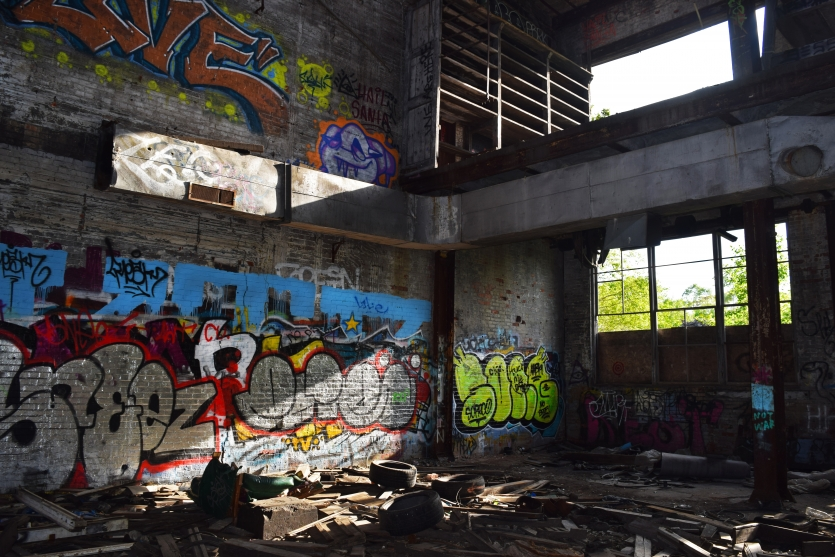 Abandoned Graffiti Art