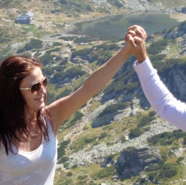 With my Love around Rila mountain /Bulgaria/