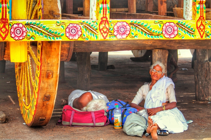 FOR A SPOT OF SHADE UNDER THE CHARIOT OF DIVINITY