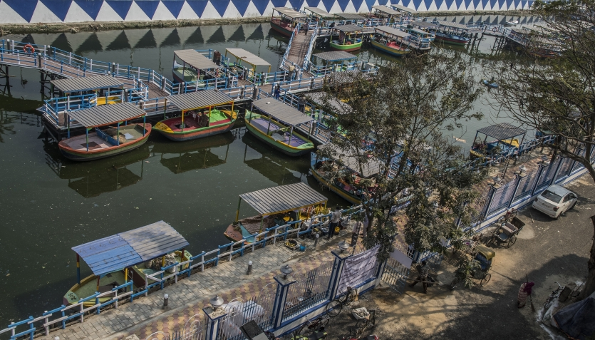 Eco-friendly Floating Market