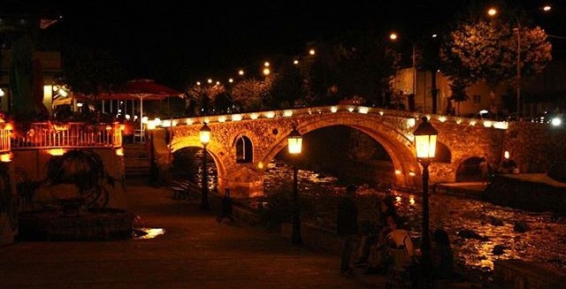 The Old Stone Bridge , Prizren
