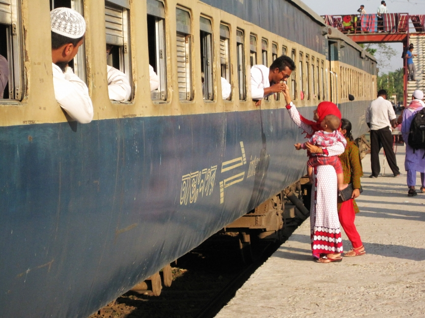 Travel Photo: Journey By Train: See off.