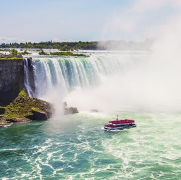 Niagara Falls in the summer