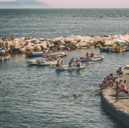 People at the Sea
