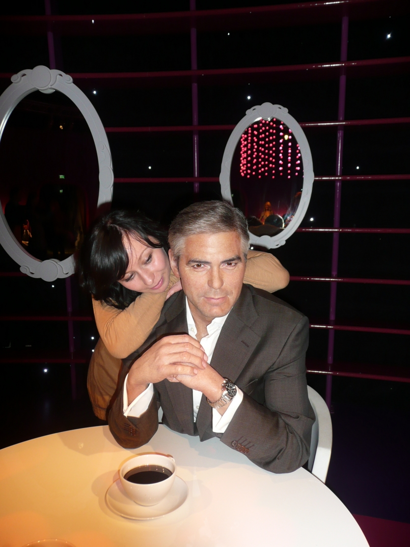 Me and George Clooney