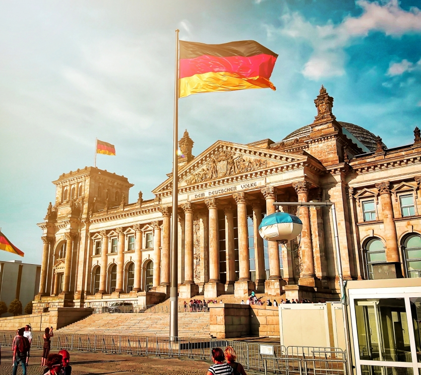 The Reichtag Building, Berlin, Germany