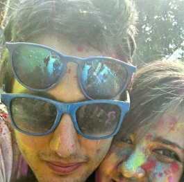 Color fest.. fun... love...BIG smile