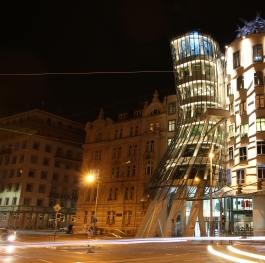Dancing House or Ginger and Fred Prague