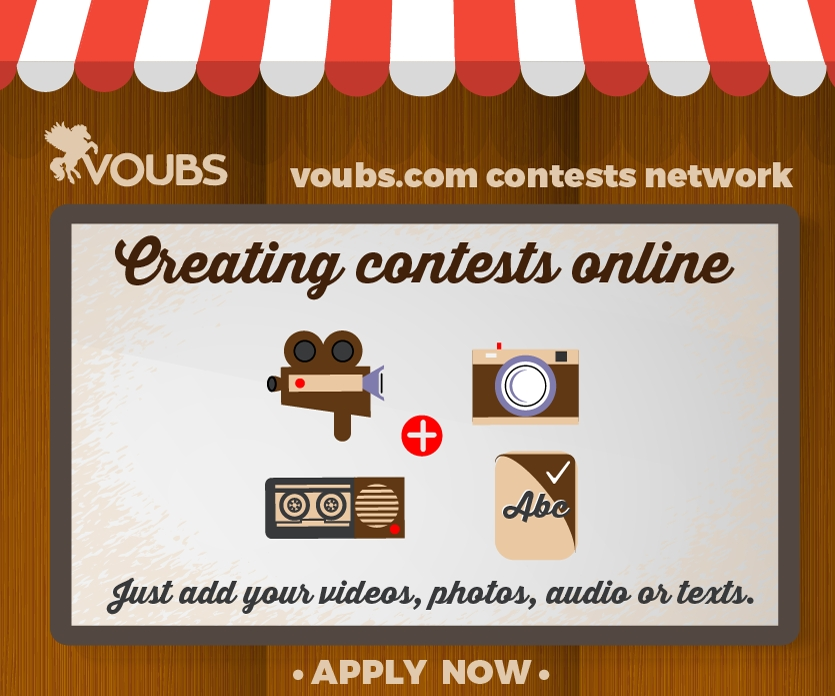 VOUBS.com is a one-stop-shop for online contests and competitions