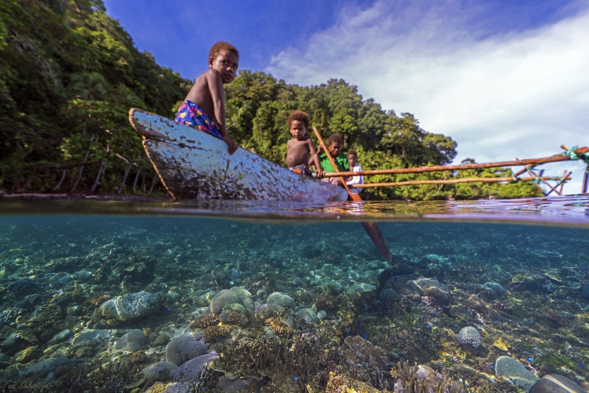 Living in the jungles of Papua New Guinea
