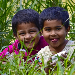smile of bangladeshi kids