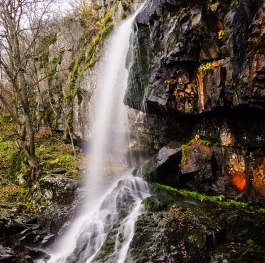 Boianski waterfall