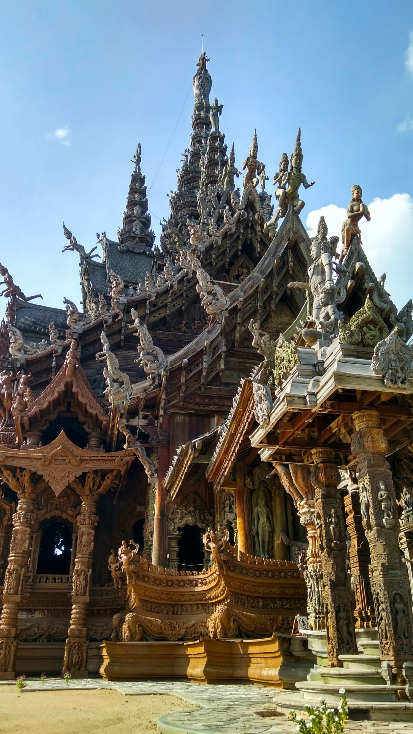 The Sanctuary of Truth, Pattaya, Thailand
