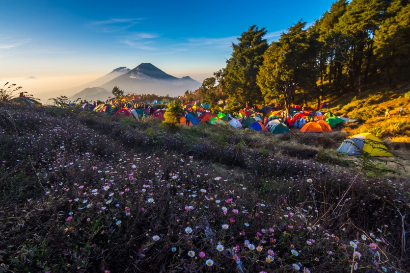 Amazing Mount Prau