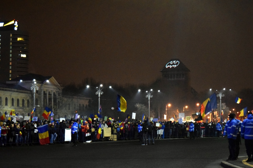Anticorruption Protest Bucharest,  February 2017
