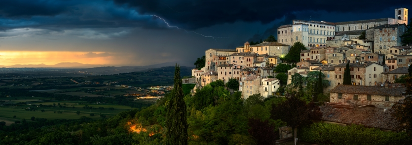 The storm over Todi