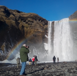 Catch a Rainbow or a Waterfall
