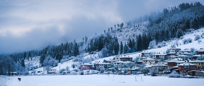 Village Koprivshtica in Winter
