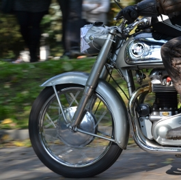Beautiful of historic motocycles