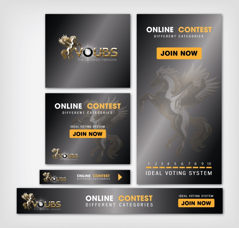 Banner Ad Design for VOUBS